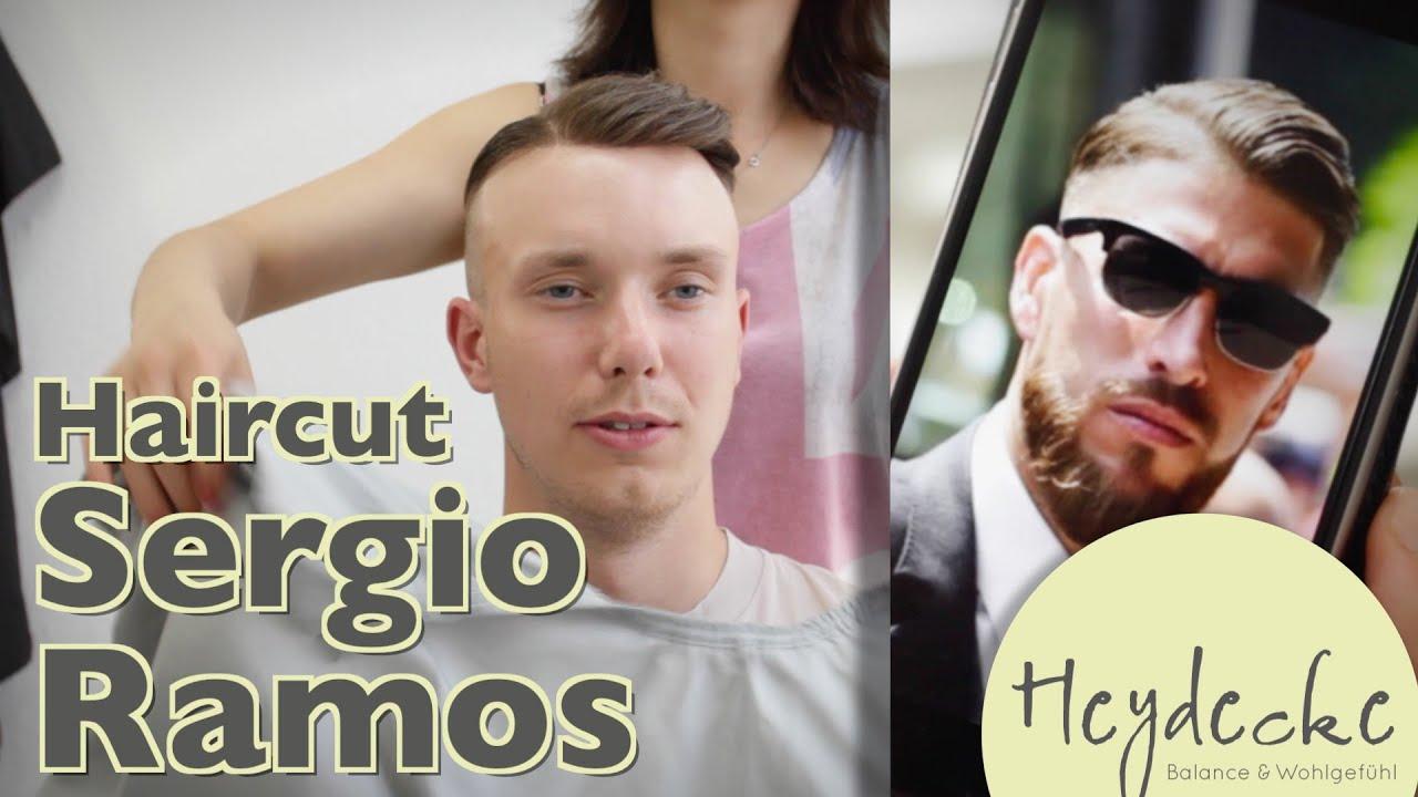 Sergio Ramos Frisur Mit Haarteil Unser Haircut Zur Em