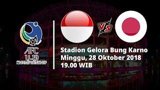Jadwal Perempat Final Piala AFC U-19, Indonesia Vs Jepang