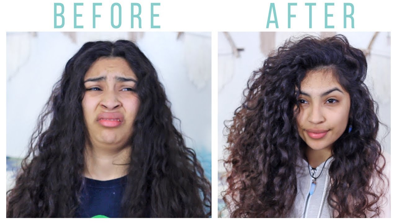 My Big Curly Hair Routine For Volume Youtube