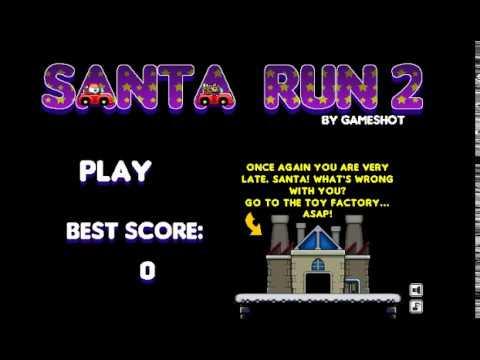 Santa Run 2 Cool Math Games Youtube