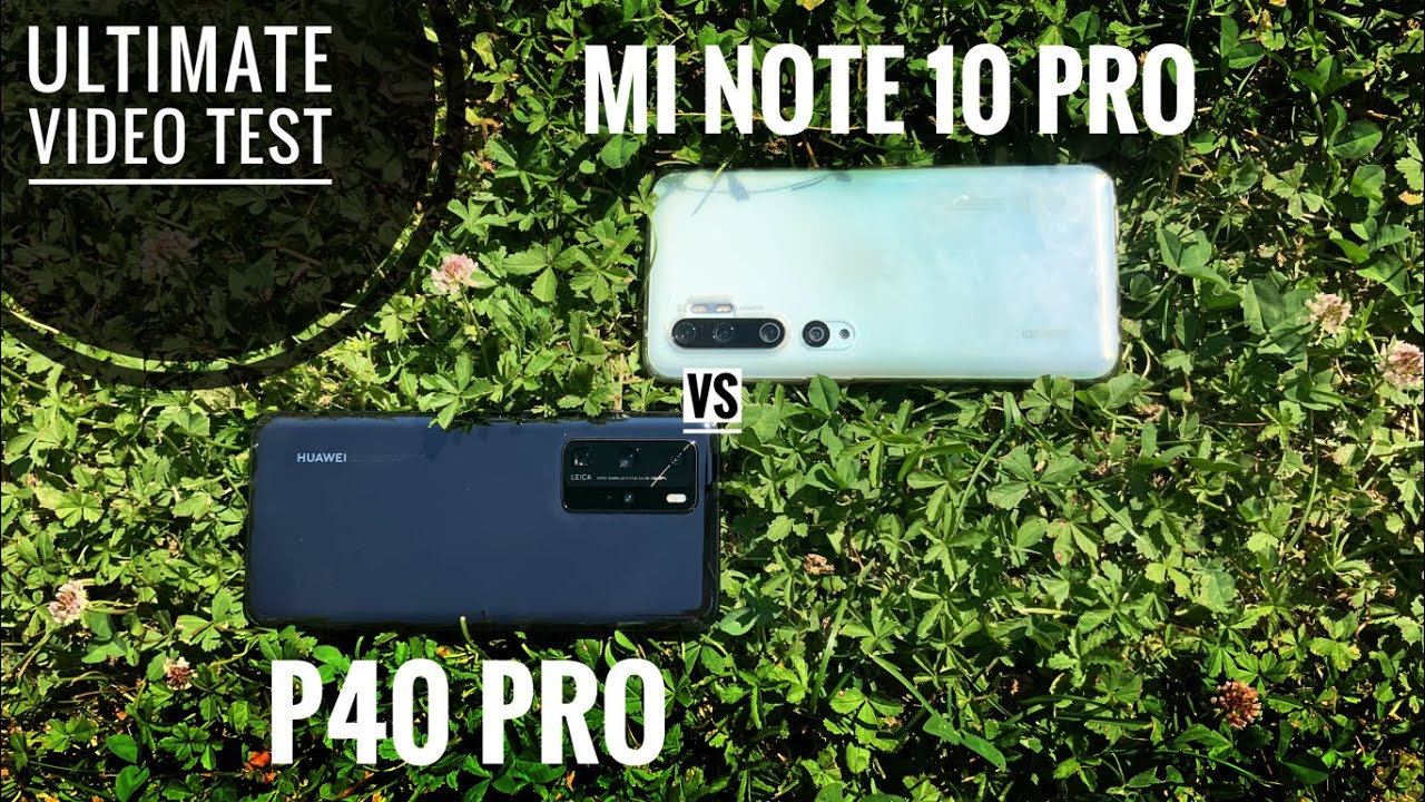P40 Pro VS Mi Note 10 Pro, VIDEO TEST COMPARISON: Stabilization, Zoom, Dynamic Range, Audio Auality