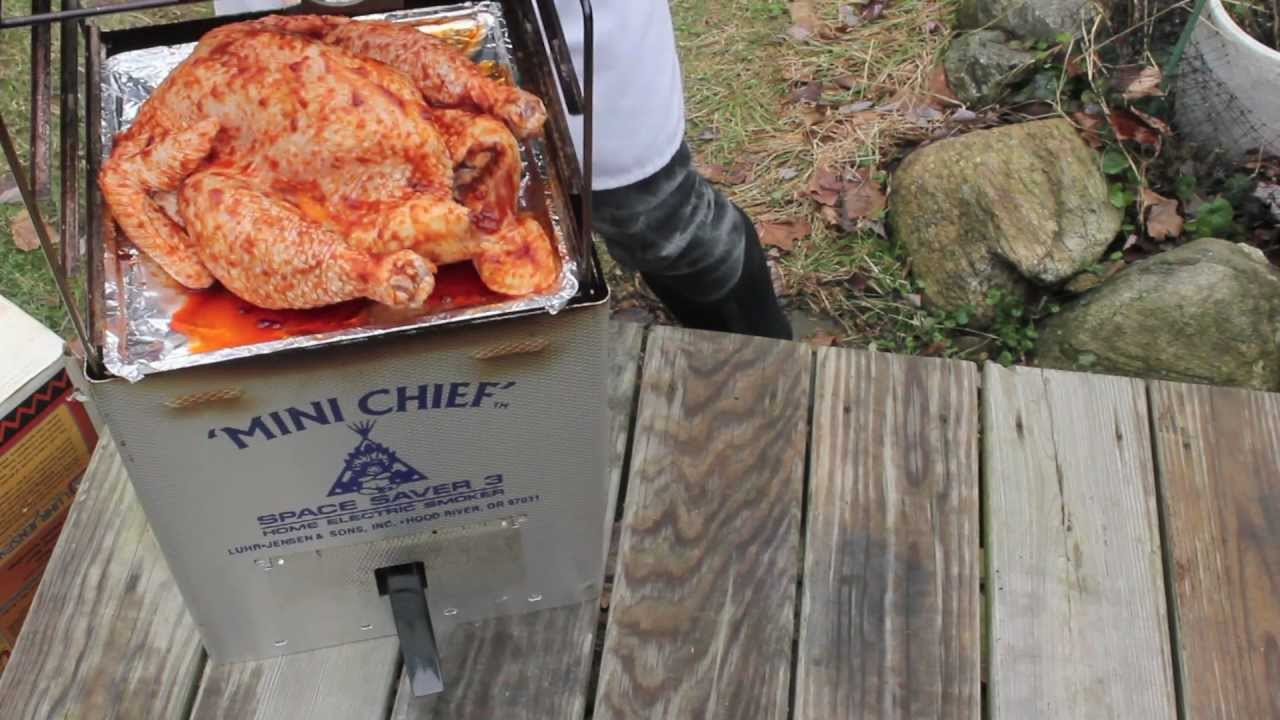 Smoking A Chicken With Frankie Kimm Youtube