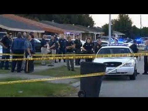 BLACK TEEN KILLED IN FERGUSON BY COPS