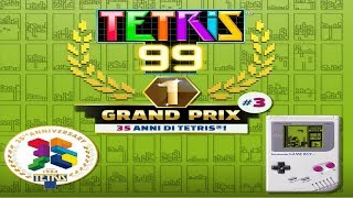 TETRIS 99 | First Look at Game Boy's TETRIS theme in Grand Prix #3 - Gameplay ITA