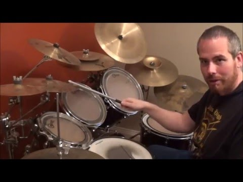 "How to play Metallica ""Enter Sandman"" on Drums"