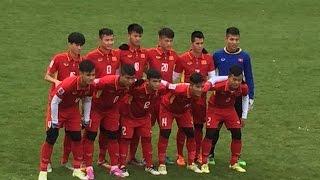 Video U20 Việt Nam vs U21 Joda JC: 4-0 (Giao hữu trước thềm U20 World Cup 2017)