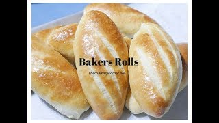 Homemade Bakers Rolls  from Scratch