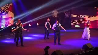New Zealand police officers dance at Diwali Festival 2017 NZ Horncastl