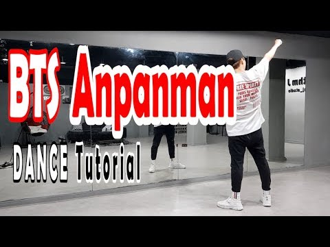 [Dance Tutorial] BTS - Anpanman (Count + Mirrored) 안무배우기
