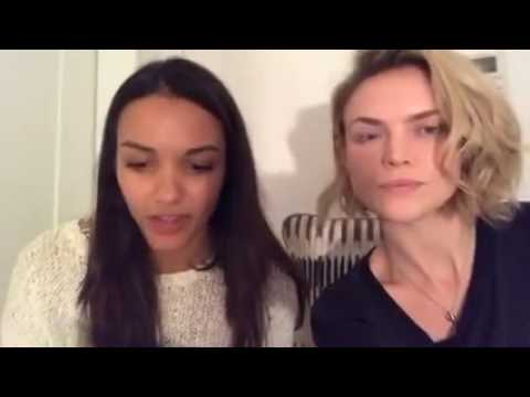 Barbara Erin Richards and Tabitha Jessica Lucas Babs Tabs Gotham