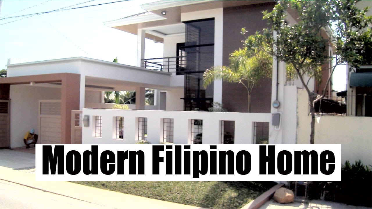 Modern Filipino Home Gaya Gaya, Bulacan   YouTube