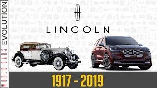 W.C.E - Lincoln Evolution (1917 - 2019)