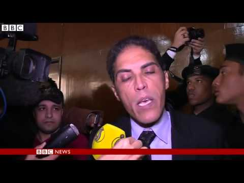 BBC News   Shock at Egypt bloggers sentence