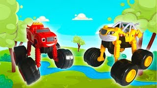 Мультик про Машинки - Вспыш и Чудо машинки на парковке -Видео для Детей