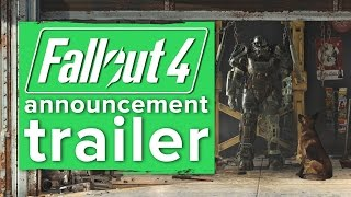 Fallout 4 announcement gameplay trailer