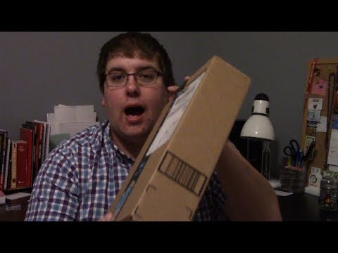 Super Cool Unboxing Video!!! (also Kevin is a nerd)