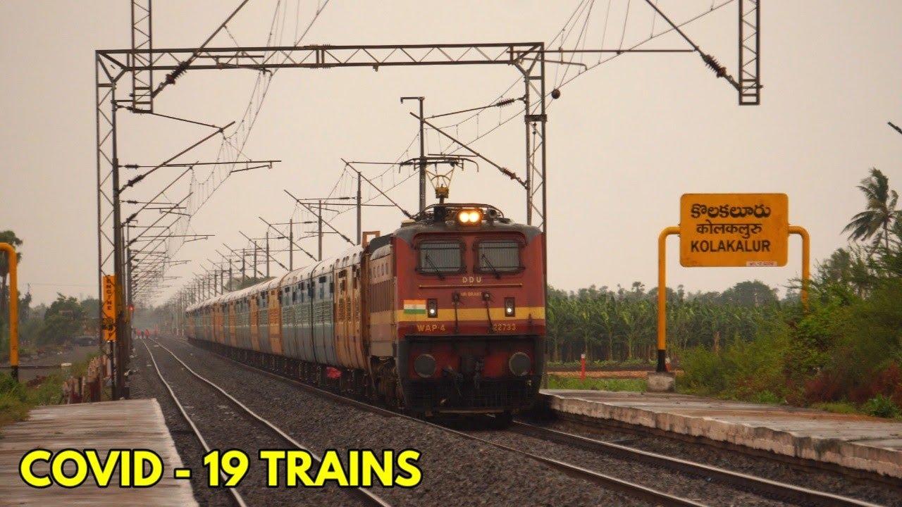 INDIAN RAILWAYS TO RUN COVID - 19 TRAINS || SOUTHERN RAILWAYS