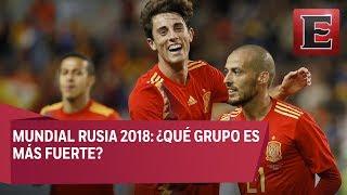 Análisis completo de los grupos del Mundial Rusia 2018