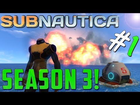 SUBNAUTICA! | CRASH LANDING!!  | BEGINNERS TUTORIAL/GUIDE | S3 EP1 | SUBNAUTICA SURVIVAL GAMEPLAY