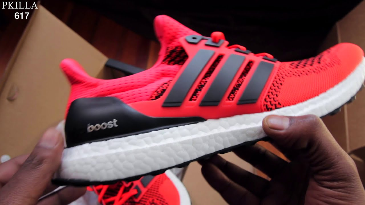 adidas ultra boost solar red 1.0 REVIEW AND ON FEET