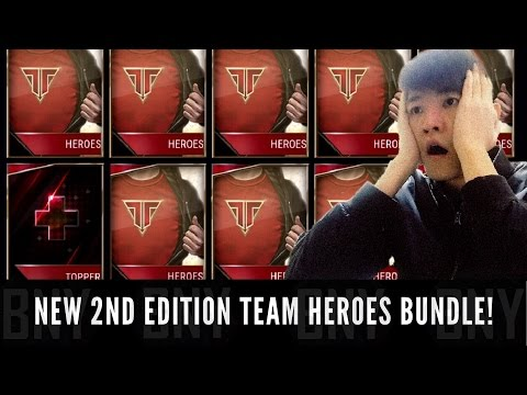 FIFA Mobile NEW Team Heroes Pack Opening ! 6 Team Heroes Bundle Pull Includes 2nd Edition Team Hero!