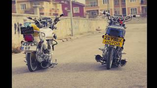 Modifiyeli basik motorlar TR MOTO