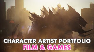 How to Make a Character Artists Portfolio for Film and Games thumbnail