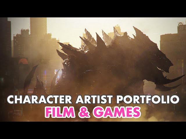 How to Make a Character Artists Portfolio for Film and Games