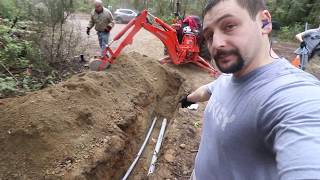 DIY Electrical Service trenching and conduit Installation