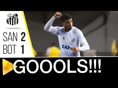 Santos 2 x 1 Botafogo | GOLS | Brasileiro de Aspirantes (31/10/17)
