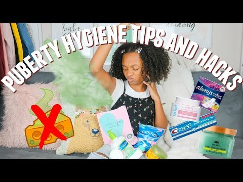 Puberty Hygiene Tips And Hacks! Hygiene Routine