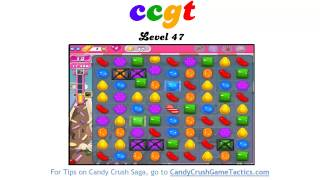 Candy Crush Level 47 - NO BOOSTERS OR CHEATS!