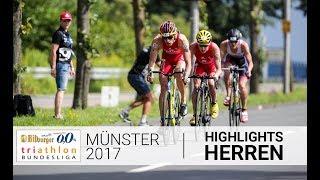 1. Bitburger 0,0% Triathlon-Bundesliga Münster 2017 - Highlights Herren