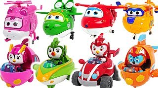 Top Wing and Super Wings! Go! Defeat the flying dinosuar!! #DuDuPopTOY