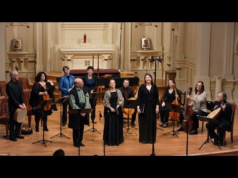 Leonardo Da Vinci: A Musical Odyssey. Voices Of Music Concert Broadcast, Lawrence Rosenwald, Poet 4K