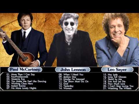 John Lennon,Paul McCartney,Leo Sayer : Greatest Hits - Best Of HQ\MP3