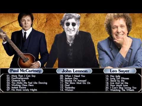 John Lennon,Paul McCartney,Leo Sayer : Greatest Hits - Best Of HQ\MP3