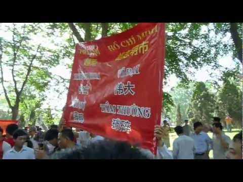 Hundreds of Vietnamese Stage Anti-China Protest (Hanoi, June 5th 2011)