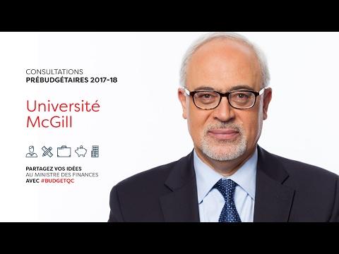 Consultations Prebudgetaires 2017-2018: Minister of Finance Carlos Leitão