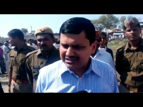 Kanpur DM Kaushal Raj Sharma byte on cold storage building collapse