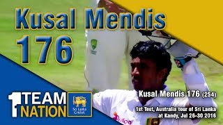 Kusal Mendis 176 vs Australia - 1st Test, Australia tour of Sri Lanka 2016