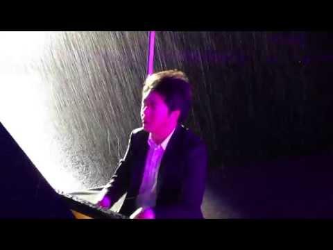 """Playing In An """"Ocean"""" of Rain (Hangzhou, China)"""