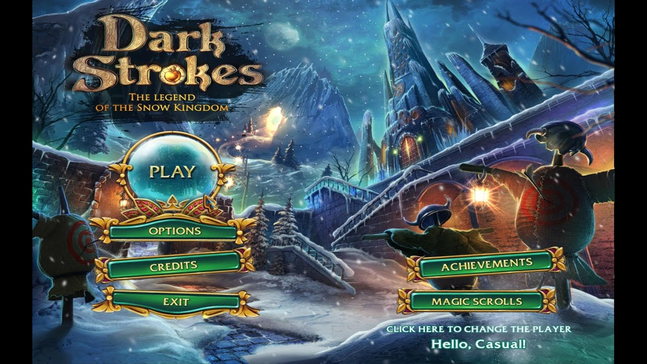 Bigfishgames Dark Strokes 2 The Legend Of The Snow Kingdom Gameplay