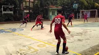 Futsal SMP 4 di SMA 80 Sunter babak 1