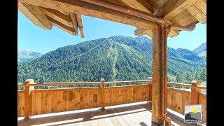 Swiss Sun Valais Production présente A VENDRE à GRIMENTZ magnifique CHALET DE PRESTIGE NEUF 6.5 pces
