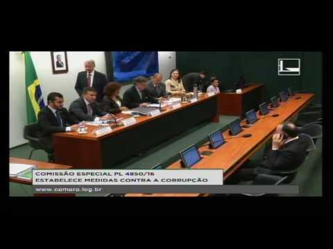 PL 4850/16 - ESTABELECE MEDIDAS CONTRA A CORRUPÇÃO - Reunião Deliberativa - 15/08/2016 - 14:42