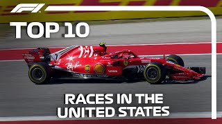 Top 10 F1 Races In The United States