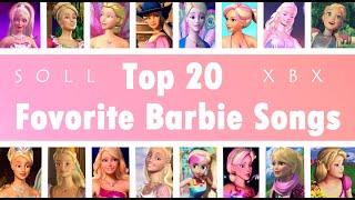My Top 20 Barbie Songs - 2020
