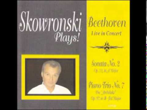 "Skowronski Plays! Beethoven Piano Trio in B-flat Major, Op. 97 (""Archduke""), First Movement"