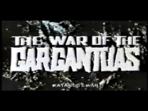 The War of the Gargantuas (1966) - English Export Credits